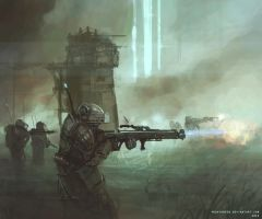 Line infantry by ProxyGreen
