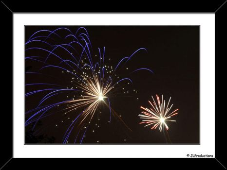 Fireworks in a chruchyard 4 by JimmyLemon