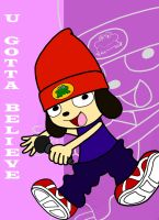 Parappa the Rapper by Retro-Eternity