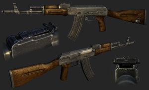 First Person AK47 by panick