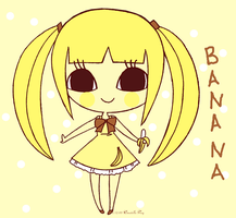B is for Banana by Pijenn