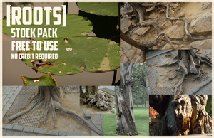 Roots: Stock Pack by Blackpassion777
