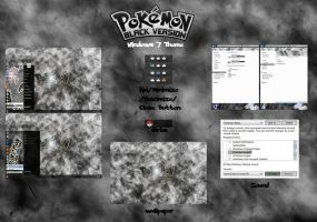 [ 2011 theme ] Pokemon Black by HKK98