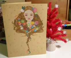 Holiday card project 2013 by Alodix