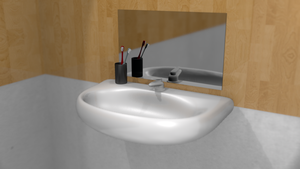 The Sink... In A Bathroom by galantyshow