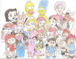 Toon Amazing Race by Jose-Ramiro