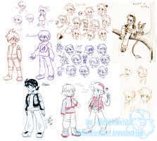 PokeSpe+ Sketchdump by liliebiehlina3siste