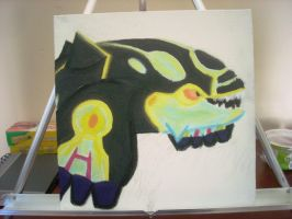 Shiny Primal Kyogre painting WIP by dragontamer272