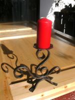 iron candle holder by Tallon-1