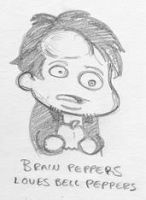 Brian Peppers Wuv Bell Peppers by Chaosdoughnut