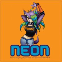 Neon the Hedgehog Commission by Yastach