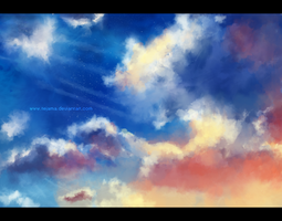 Background practice by TejaMa