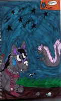 Starry Freakout. by Mistress-Fluffeh