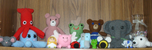 Crochet Menagerie by SuzyTeacup