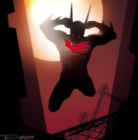 batman Beyond quicky by artist Tom Kelly by TomKellyART
