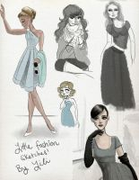 Little Fashion Sketches by liliribs