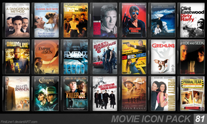 Movie Icon Pack 81 by FirstLine1