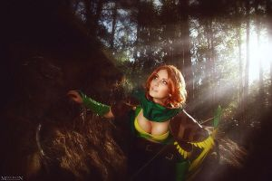 Dota2 - Windrunner by Shadow0fPain