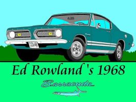 1968 Barracuda FB - Ed Rowland by formula-s