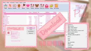 theme for win rar pink by Chokolathosza