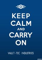 Keep Calm Fallout Edition by Crome676