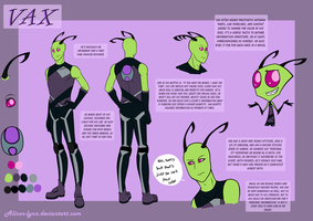 Irken Vax - Reference sheet by Alison-lynn