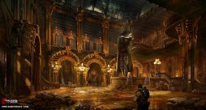 Great Hall Sketch6 Copy by jonone