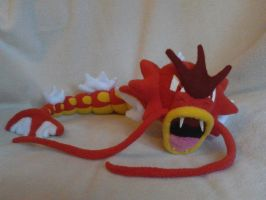 Shiny Gyarados plush by millylilly14
