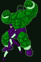 Hulk Banner redesign color by hulkdaddyg