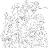Sailor Senshi - SuperS Season by Ryu-noShikyo