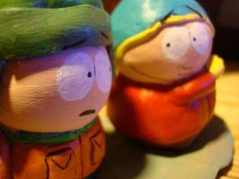 Kyle and Cartman 3 by hazyclarity