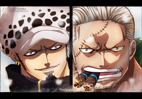 Trafalgar Vs Smoker by KhalilXPirates