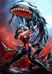 Wonder Woman Symbiote by cric