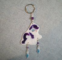MLP Full Body Rarity Keychain Charm FOR SALE by AmyAnnie14