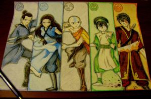 Avatar: The Last Airbender by Tedi1302