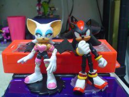 Custom Jazwares Rouge the Bat by Gregarlink10