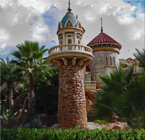 Prince Eric Castle Turret V3 by WDWParksGal