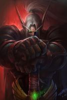 Blood knight by Tooth-w