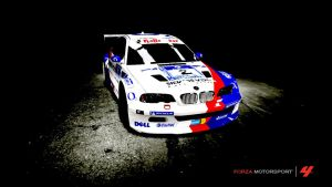 BMW M3 GTR... painting? by AloneRacecar