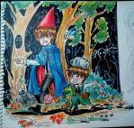 Over The Garden Wall by jaimie07