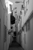 Quarteira Alley by surferpete