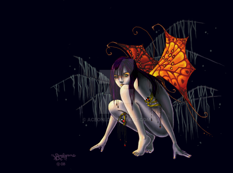 Dark Fairy by aceoni