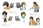 If some of my owls were humans... by Vanzkie
