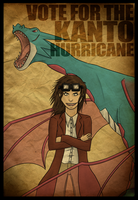 VOTE FOR THE KANTO HURRICANE by spypoke