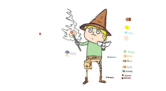 Wizard by MasterBellick