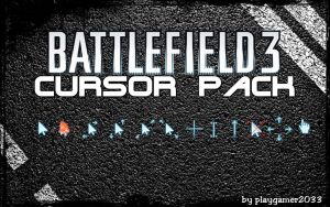 Battlefield 3 Cursor Pack by playgamer2033