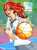 basketball memory by AOey