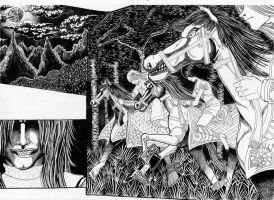 Eragon - Book One - Panel 1 - Ink by Junior-Rodrigues