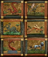 Medieval Bestiary by Cique