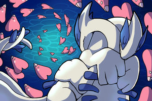 Lugia Love by Trinosaur